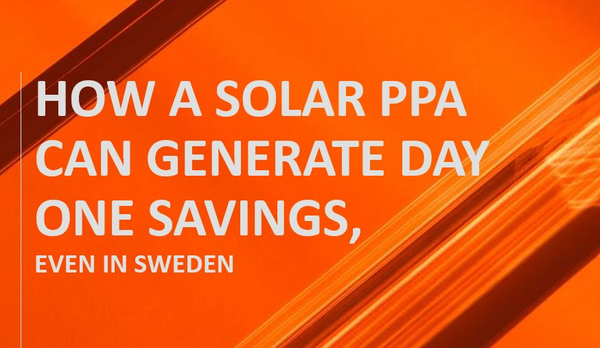 Webinar: How a solar PPA can generate day one savings